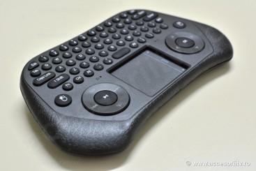 Measy GP800 - Tastatura wireless cu touchpad (USB)