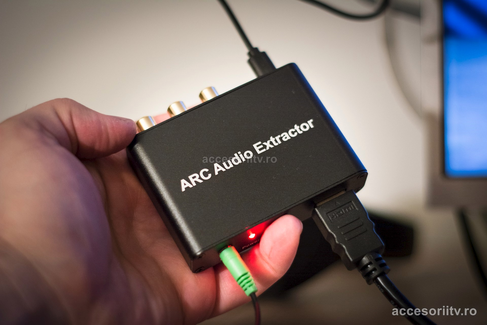 arc audio return channel audio extractor