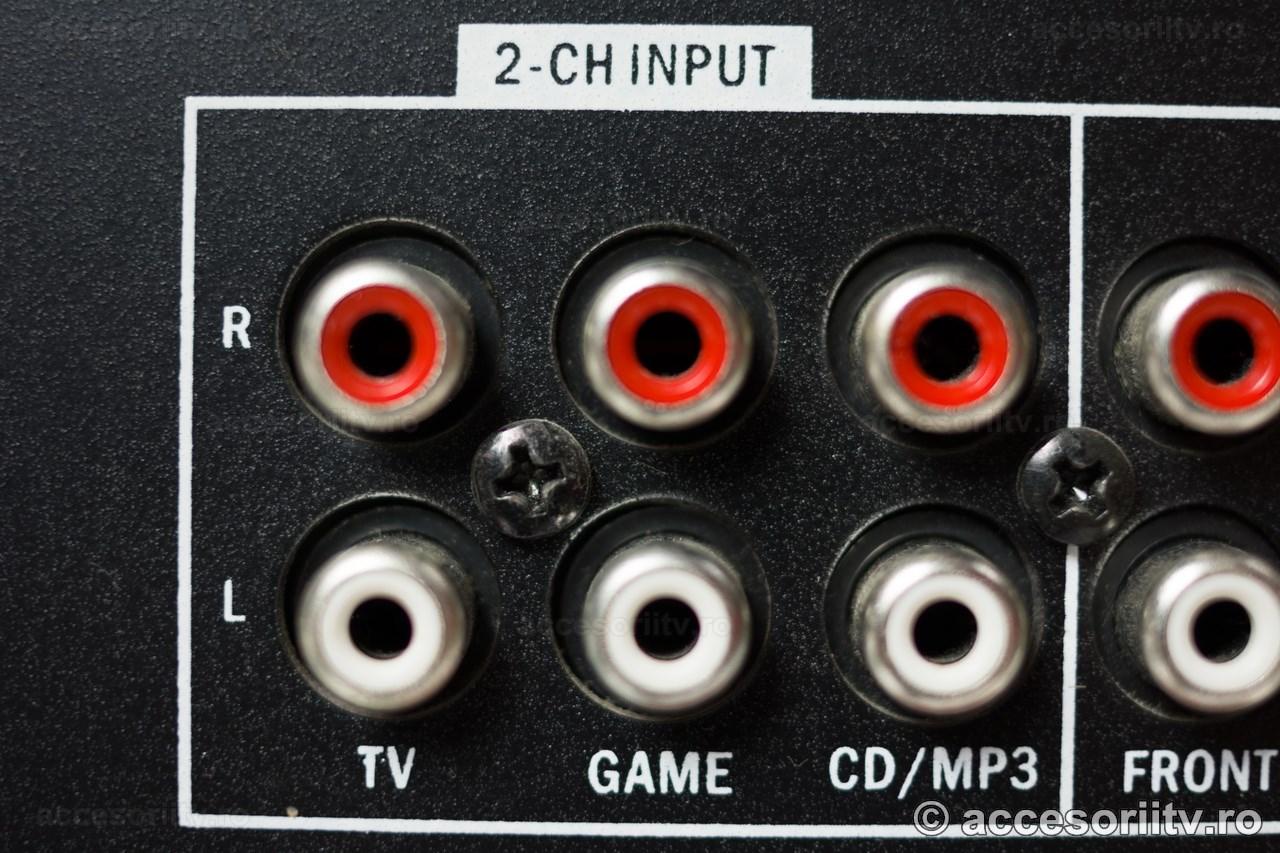 conectare pentru semnal stereo si panning fata spate