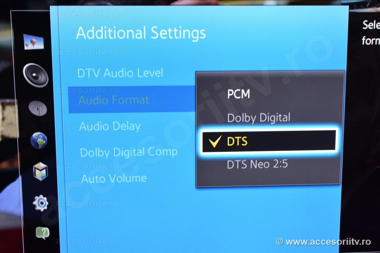 Digital audio converter without DTS support