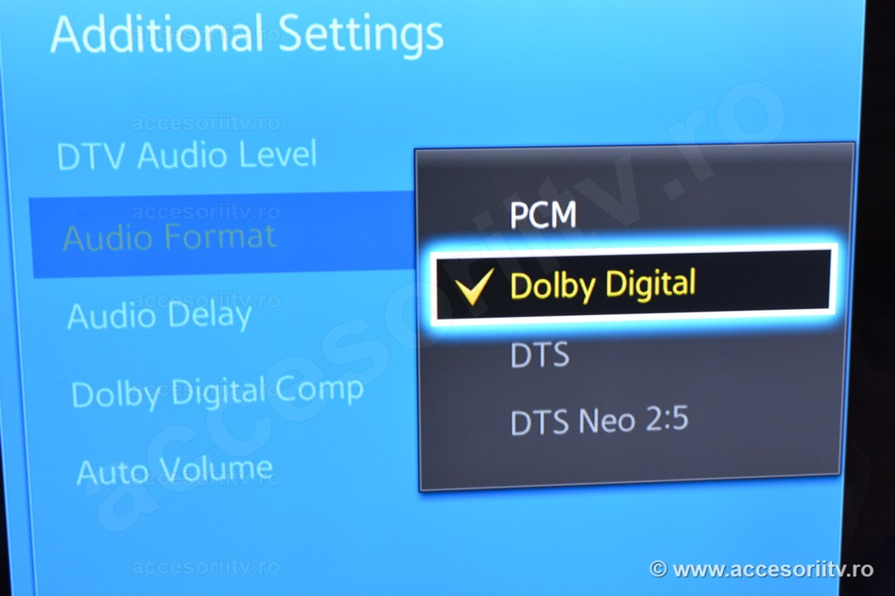 Digital audio converter without DOLBY DIGITAL spec support