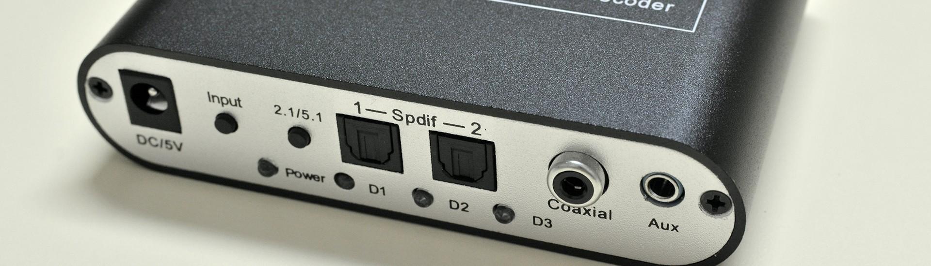 Decodor audio digital 5.1